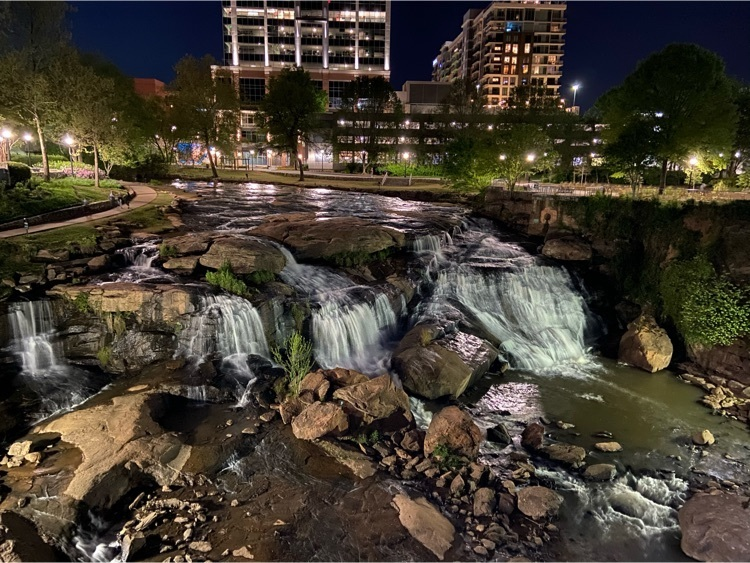 Downtown Greenville is beautiful.