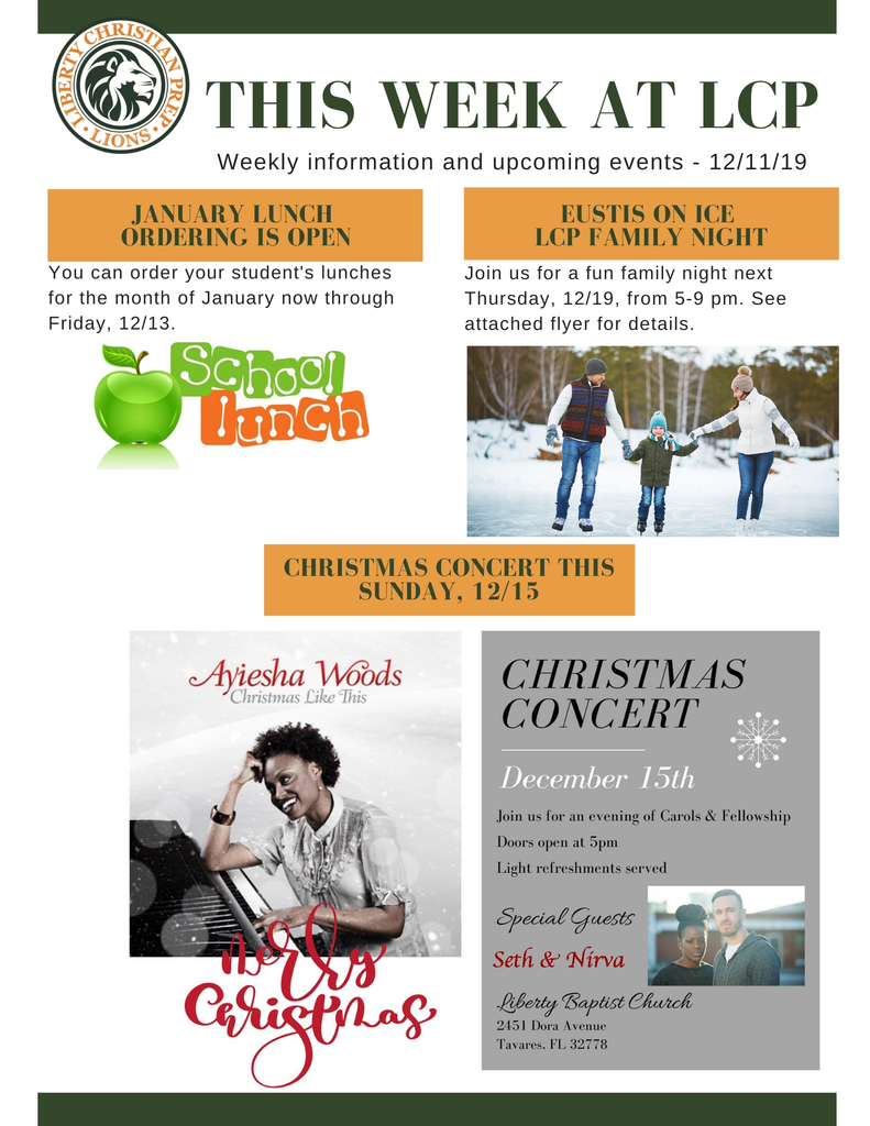 This Week at LCP - 12/11