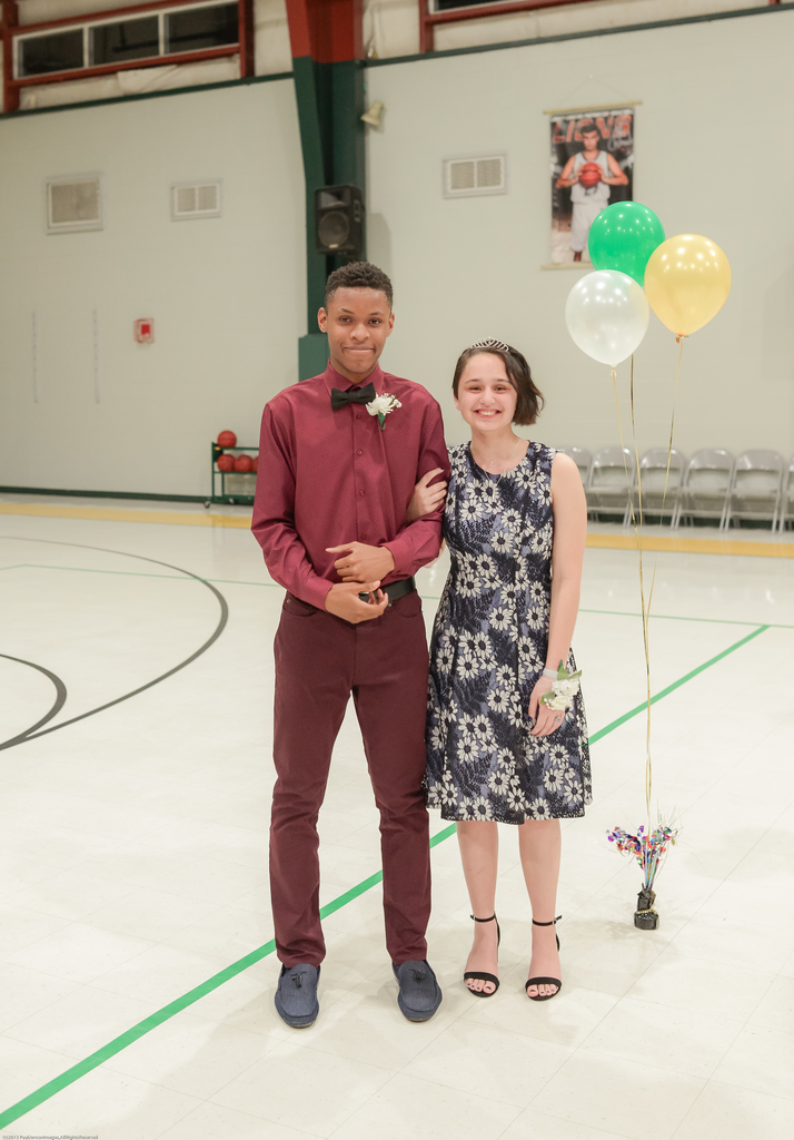 10th Grade Prince and Princess: Sujes Williams and Ayla Molinaro
