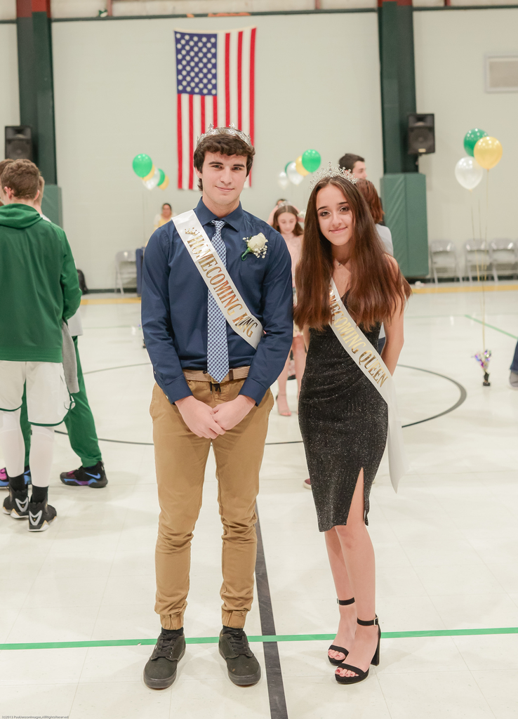 King and Queen: Alex Castaneda and Kate Aponte